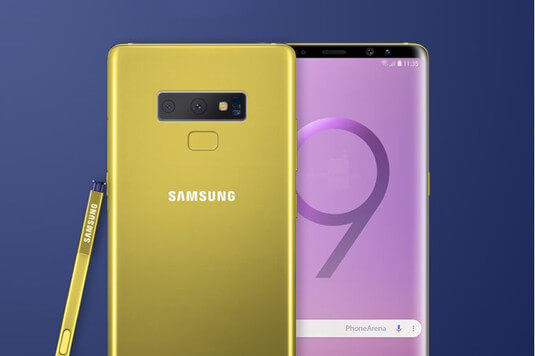 Galaxy Note 9 Design