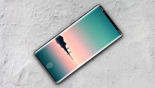 Galaxy Note 9 In-Display-Fingerabdrucksensor